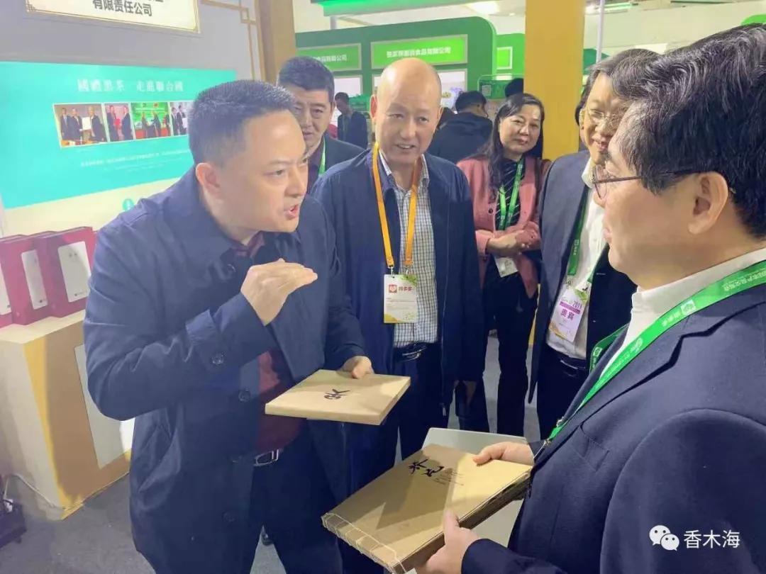 湖南省副省长品香木海黑茶