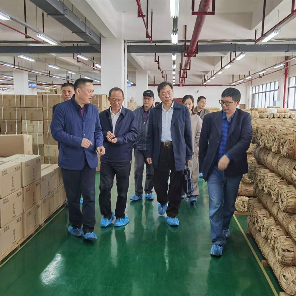 湖南省农业农村厅副厅长带队到香木海芙蓉山茶厂调研工作